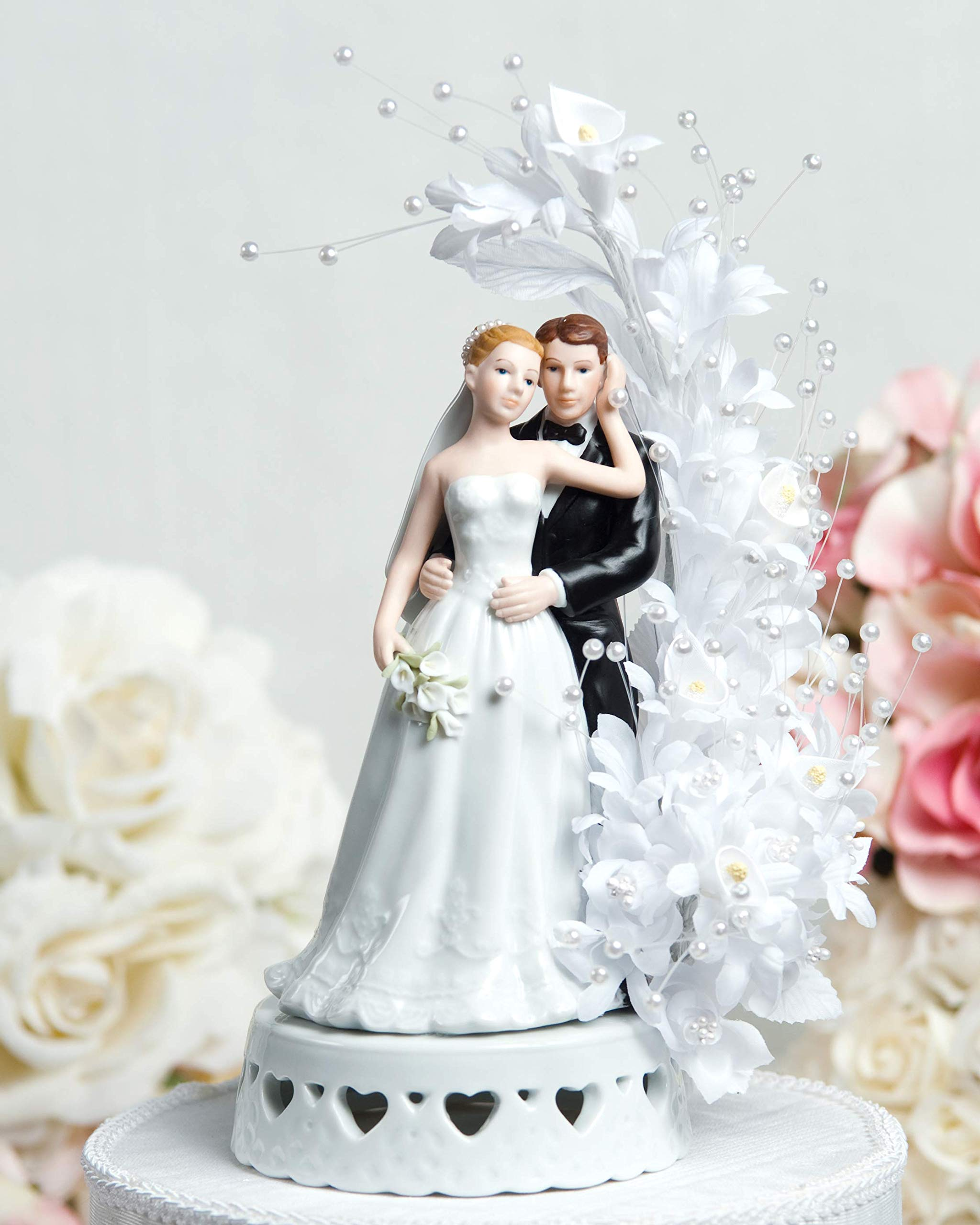 Wedding Collectibles Calla Lily Arch Cake Topper