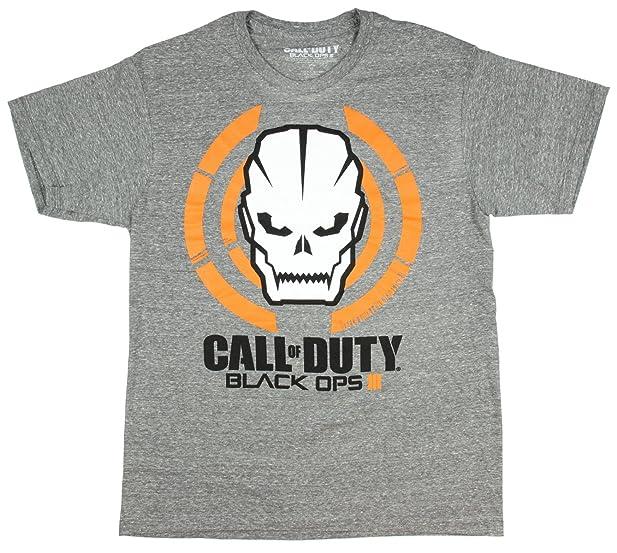Call Of Duty Black OPS III Skull Logo T Shirt