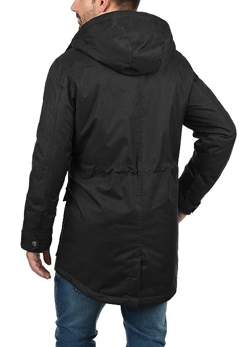 !Solid Bello Parka Abrigo Chaqueta De Invierno para Hombre con Capucha