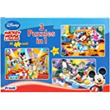 Mickey Mouse and Friends 3 in 1 Puzzle