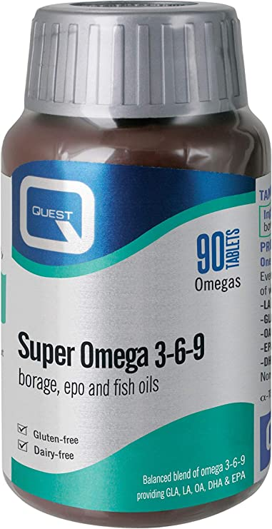 Quest Super Omega 3 6 9 Pack Of 90 Capsules Amazon Co Uk Health