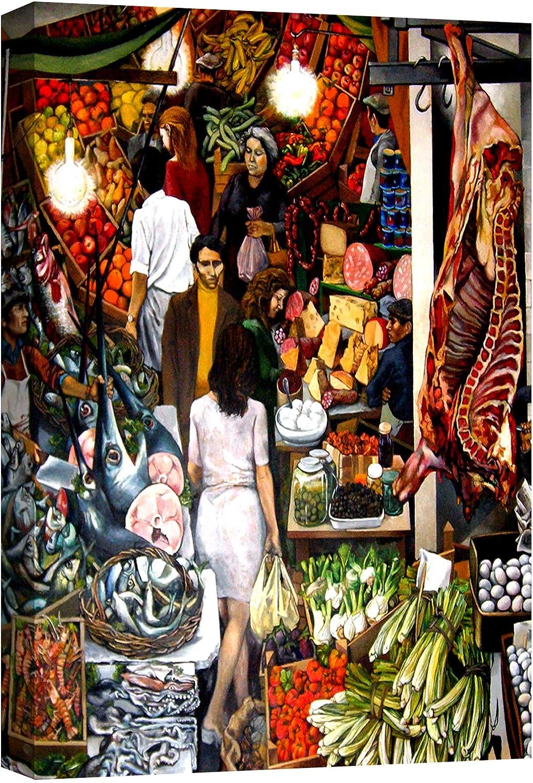 Quadri Moderni Pablo Picasso La Guernica Stampa Su Tela Canvas Xxl Soggiorno 120x70 Cm