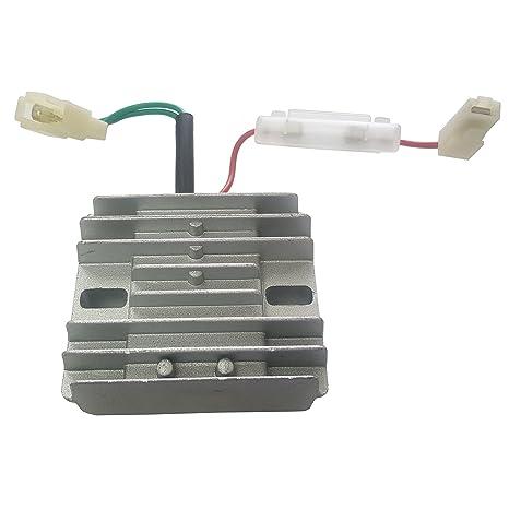 amazon com : voltage regulator avr for yanmar diesel engine & generator l100  186f 10hp : garden & outdoor
