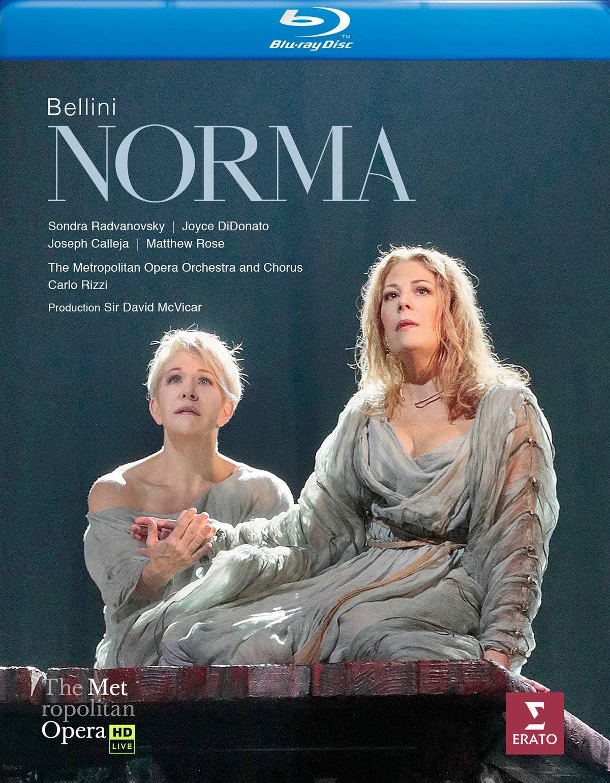Blu-ray : JOYCE DIDONATO - Bellini: Norma (met Live Recording) (Blu-ray)