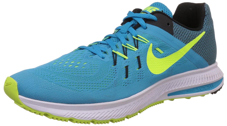 Nike Mens Zoom Winflo 2 Blue Lagoon,Volt,Blk,Wht,Noir,Blnc Running Shoe  Size Uk 7: Amazon.in: Car & Motorbike