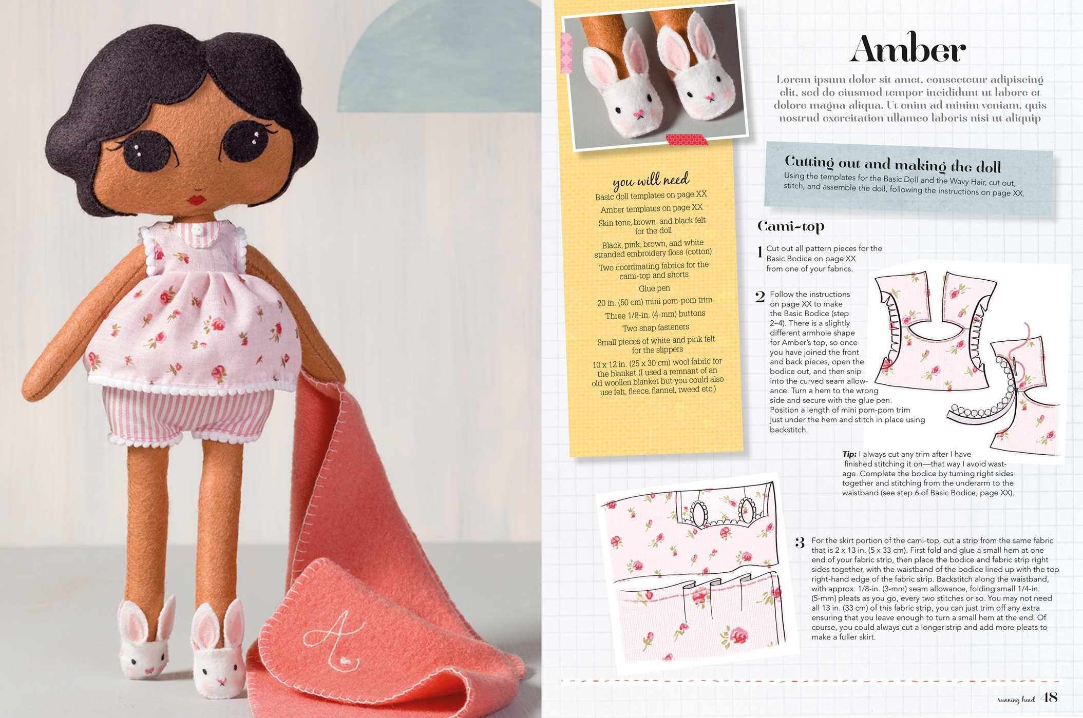 Sew Your Own Dolls: 25 stylish dolls to make and personalize: Louise ...