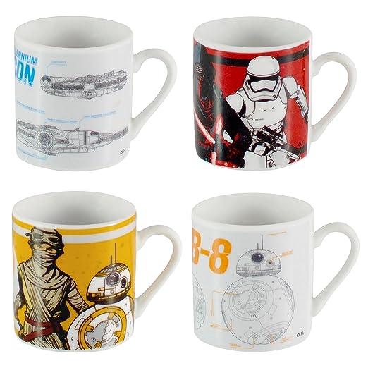 2 opinioni per Star Wars in ceramica Espresso Coppe Set