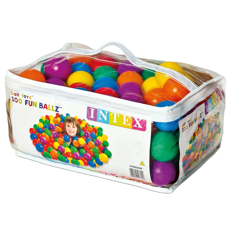 Intex Pack bolas multicolor di metro 65 cm 2 a os