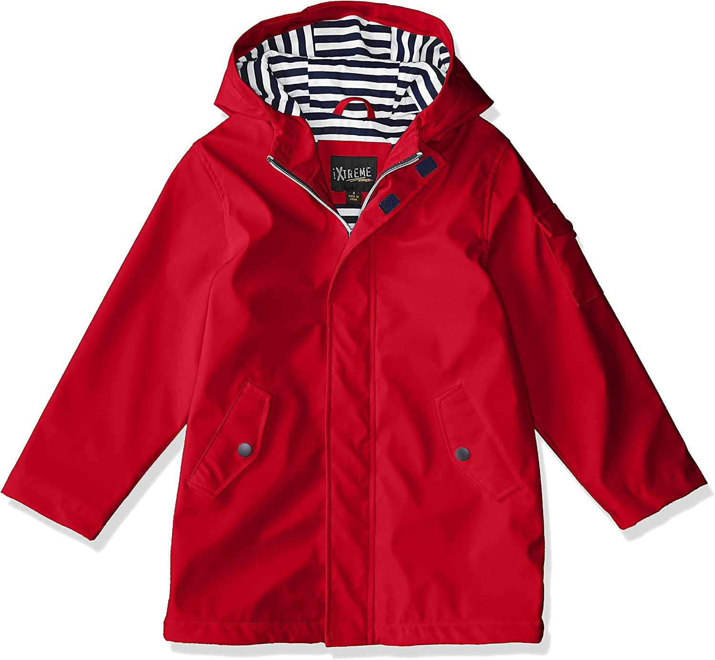 iXtreme Little Boys Hooded Waterproof Rain Slicker Jacket