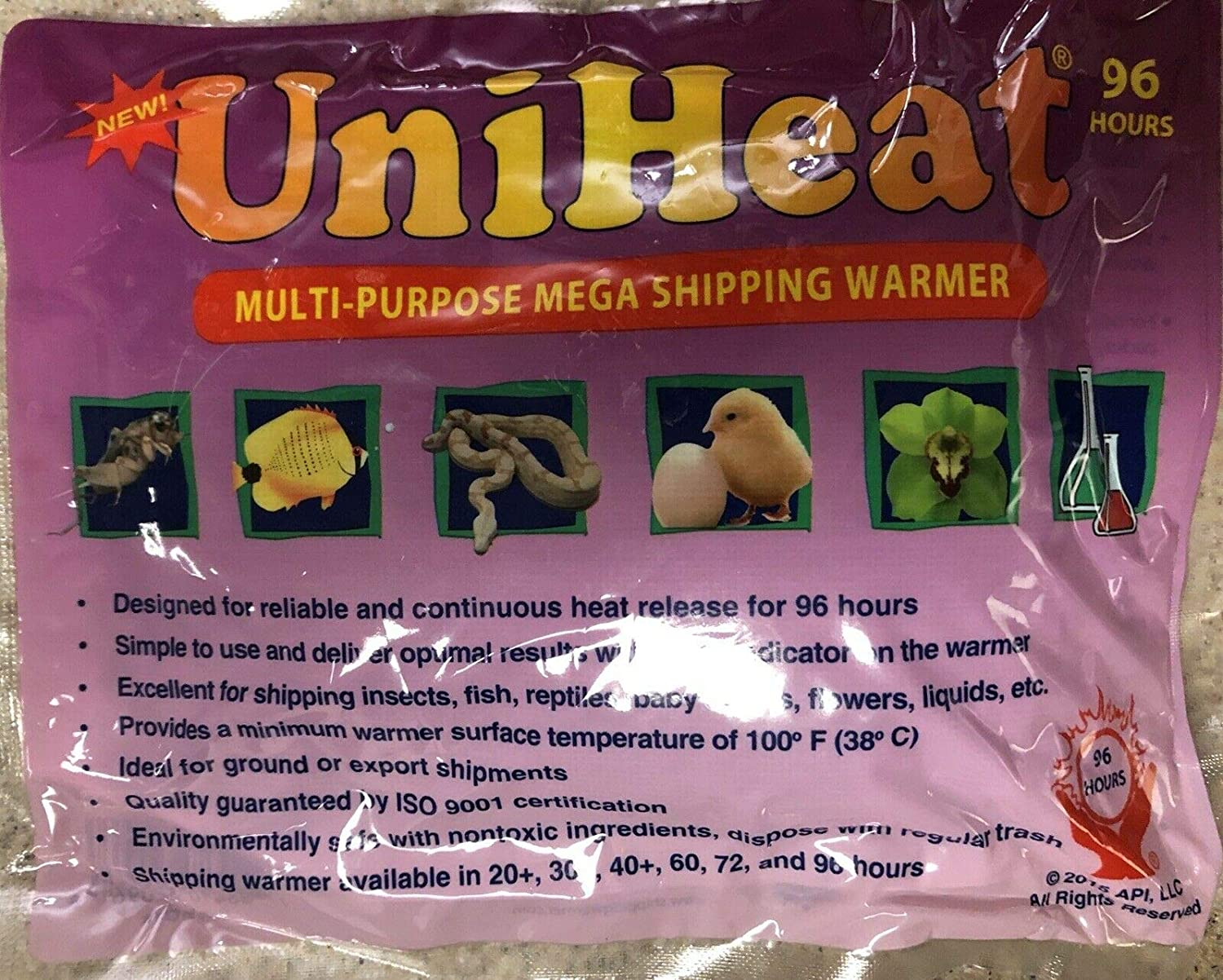 UniHeat 72 Hour Shipping Warmers Disposable Heat Packs Fresh /& 72 HR 10