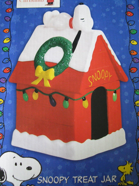 Hallmark Peanuts Snoopy Treat Jar A Charlie Brown Christmas Special Edition