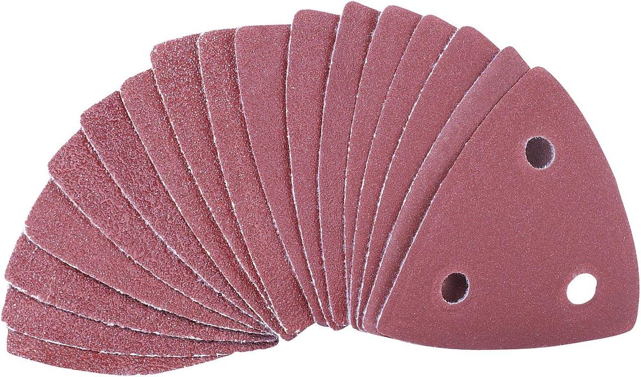 Schleifpapier f/ür Multifunktionswerkzeug MF-300 und 500 AGT Zubeh/ör zu Multitool Schleifpapier Multitool Schleifer 10er-Set