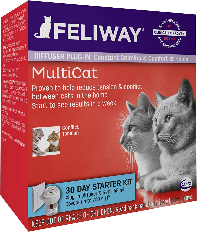 D89410B-3 3 Pack Basic FELIWAY CEVA Animal Health Multicat Feliway Refill
