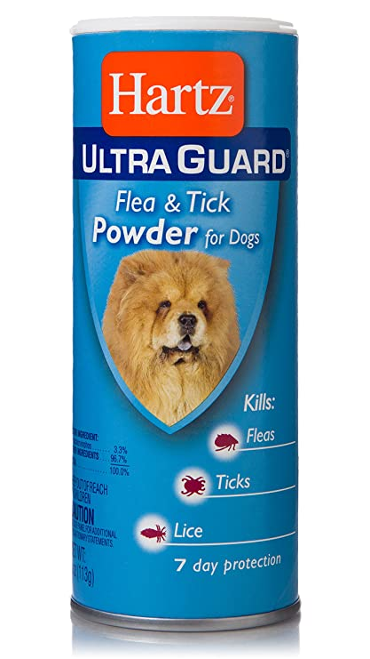 Amazoncom Hartz Ultra Guard Flea And Tick Powder For Dogs 4 Oz