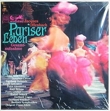 Offenbach Pariser Leben Gesamtaufnahme Vinyl Schallplatte 2 Lp