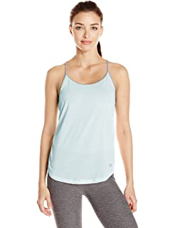 8a96ae56dc46b Amazon.com  Under Armour Women s Fit Happens Strappy Tank