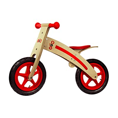 Zum CX Wooden Kids Balance Bike for Toddlers 3 4 5 and 6 Year Old, Toddler Bike, Glider Style Wood Frame, No Pedal, Mini Bike for Boys or Girls: Sports & Outdoors