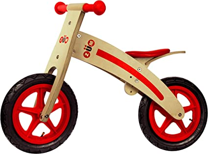 "12/"" Sport Wooden Balance Bike Kids Ride Bike Children Bicycle Cycling Riding Toy"