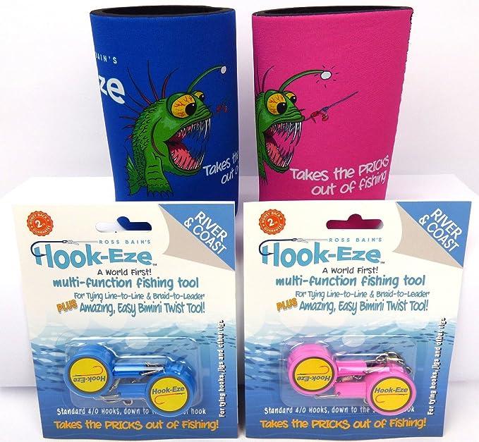 Hook Eze Mates Pack Fishing Gear 4 x Twin Packs River /& Coast Model 4 Coolers