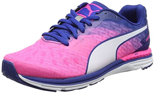 Puma Women's Speed 300 Ignite Wn Running Shoes, Pink (Knockout Pink-True  Blue