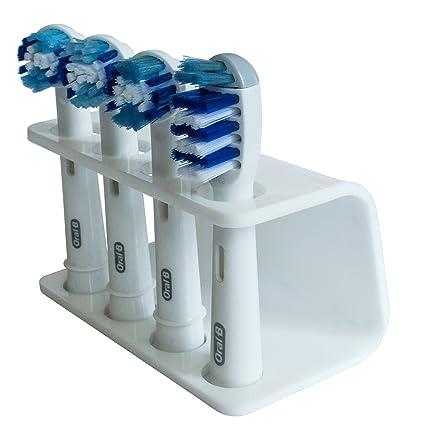 Seemii - Soporte para cabezales de cepillo de dientes electrónico, Soporta 2 ó 4 cabezales