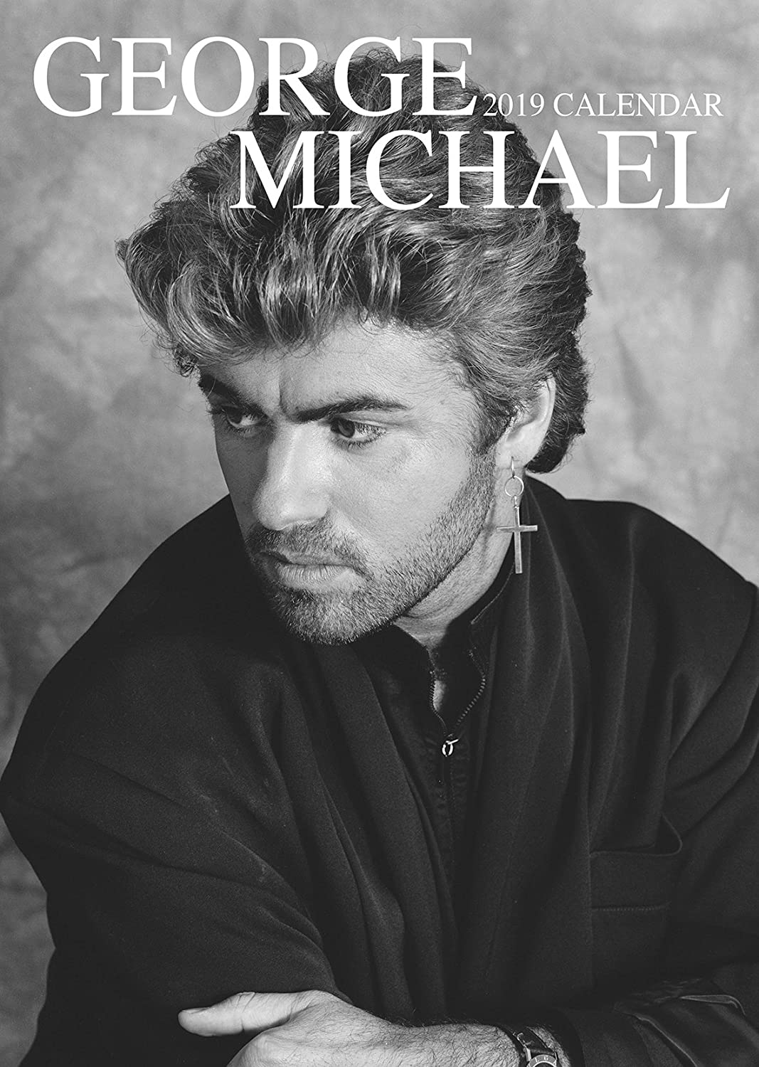 GEORGE MICHAEL CALENDAR 2019 LARGE (A3) SIZE POSTER SIZE WALL CALENDAR FACTORY SEALED BY OC (WITH A FREE XMAS GIFT FROM DEC 1ST)