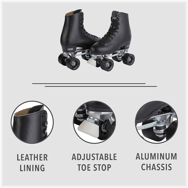 Chicago Men's Premium Leather Lined Rink Roller Skate - 1