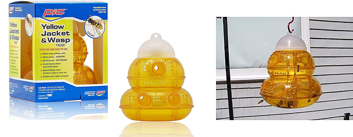 Amazon.com : Pic Wasp, Yellow Jacket & Hornet Trap : Home Pest ...