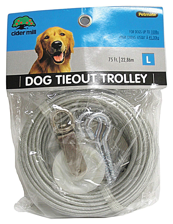 Dogzilla 3417075 Trolley Tieout 75'
