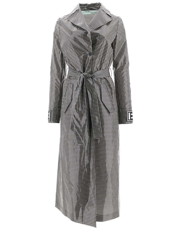 OffWhite Women's OWEA165R19C830571000 Multicolor Polyurethane Coat