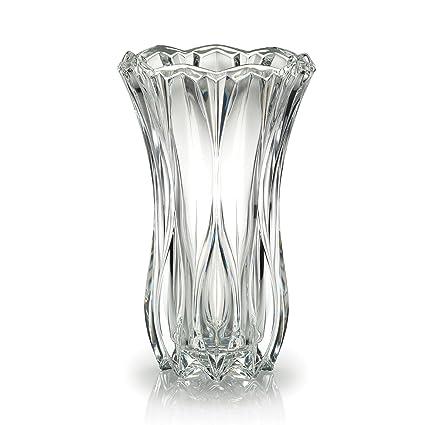 Amazon Celebrations By Mikasa Blossom Crystal Vase 12 Inch
