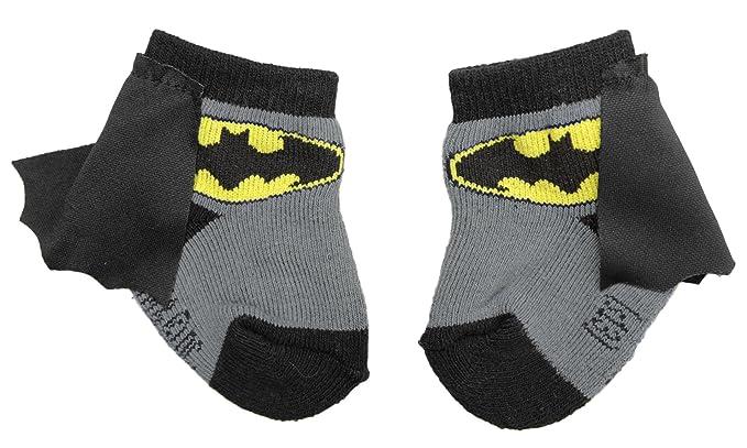 Amazon.com: Batman Infant Socks With Cape, Black/Grey: Clothing