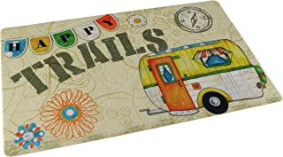 "product image for Drymate RVM1220HT RV Dish Drying Mat 12"" x 20"" - Happy Trails"
