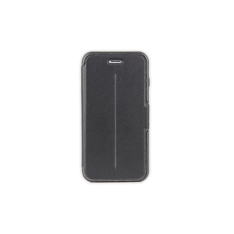 new arrival f71f6 ac8d8 OtterBox STRADA SERIES iPhone 6 Plus/6S Plus Case- Retail Packaging - NEW  MINIMALISM (BLACK/DARK GREY/BLACK LTHR FOLIO)