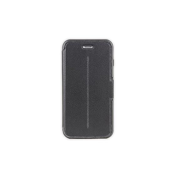 new arrival d2a7f dcf98 OtterBox STRADA SERIES iPhone 6 Plus/6S Plus Case- Retail Packaging - NEW  MINIMALISM (BLACK/DARK GREY/BLACK LTHR FOLIO)