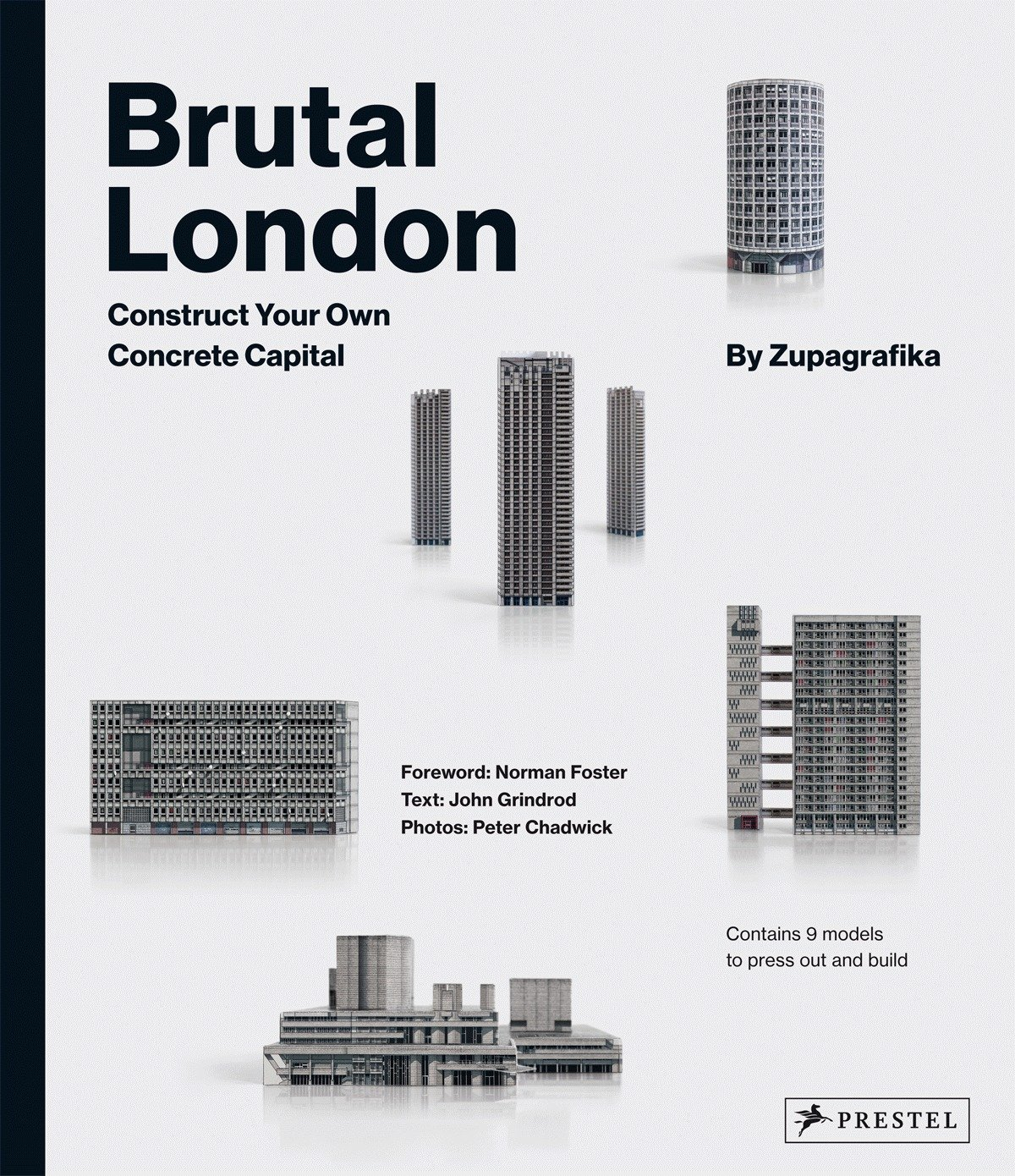 Brutal London: Construct Your Own Concrete Capital by Zupagrafika