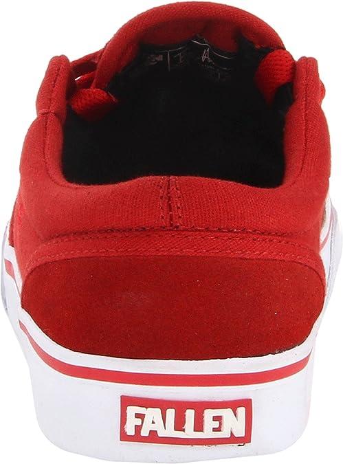 Fallen The Easy - Zapatillas de skateboarding, color Blood Red, talla 39