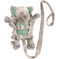 Playette 2 in 1 Harness Buddy Elephant, Grey