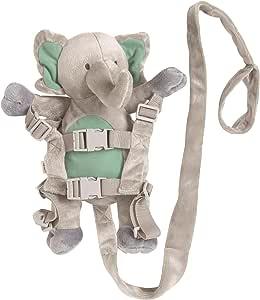 Playette 2 in 1 Harness Buddy Elephant, Grey