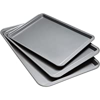 Good Cook Set Of 3 Non-Stick Cookie Sheets and 2 Cooling Racks