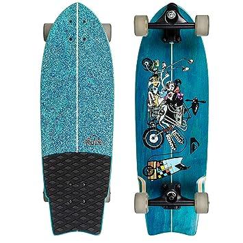 Quiksilver eglsstfree-bmj0 Skateboard Unisex: Amazon.es: Deportes y aire libre
