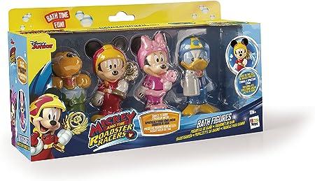 IMC Toys- Mickey Mouse Pack 4 Figuras baño Miniatura, Multicolor, 30 x 17 cm (182776): Amazon.es: Juguetes y juegos