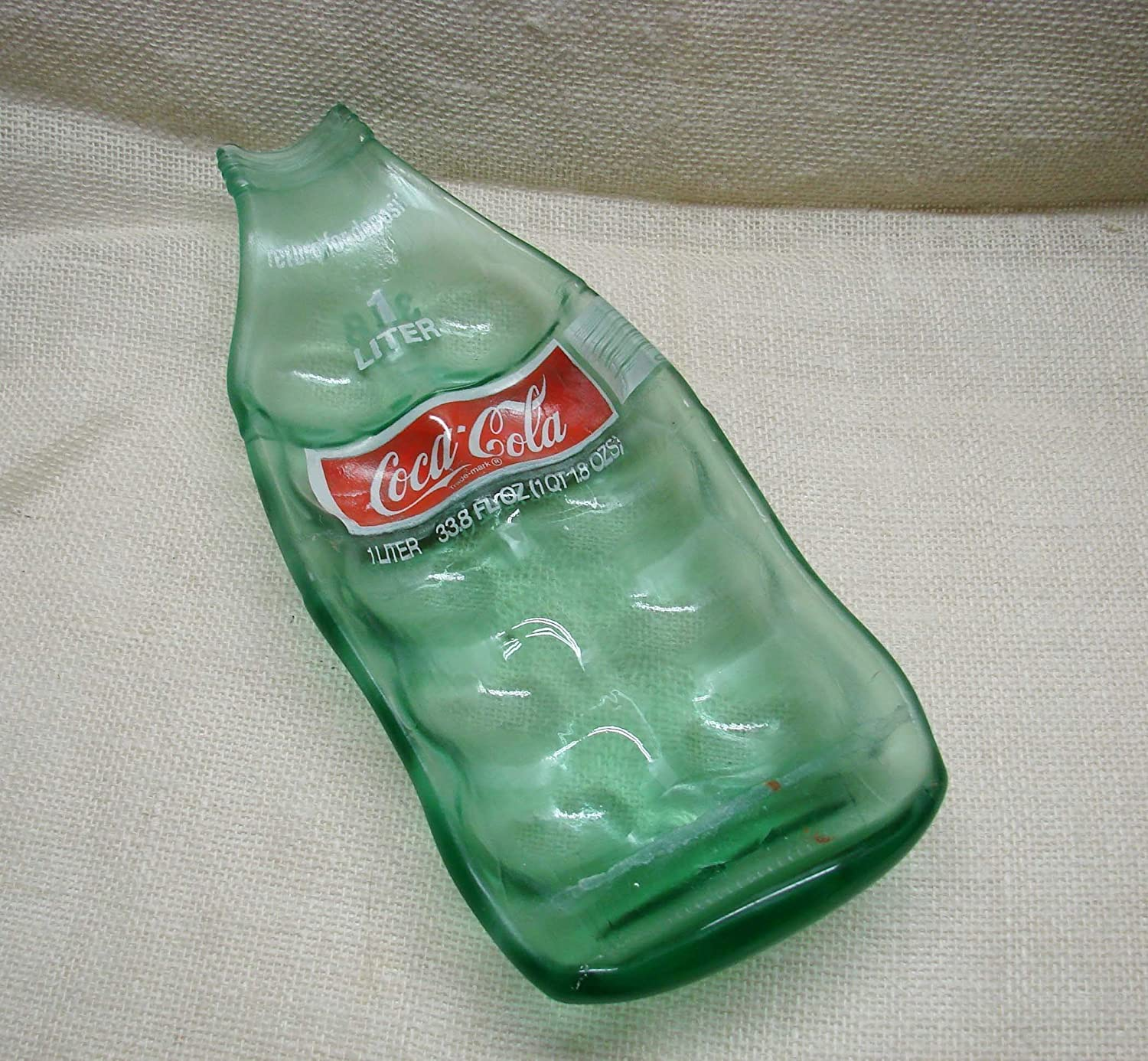 Up Cycled Extra Large Coca-Cola Bottle Deviled Egg Platter Coke Sushi Dish