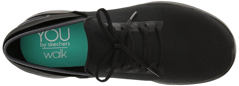Skechers Damen Damen Skechers You-Inspire Slip On Sneaker, Schwarz Schwarz (Bbk) b0b7f9