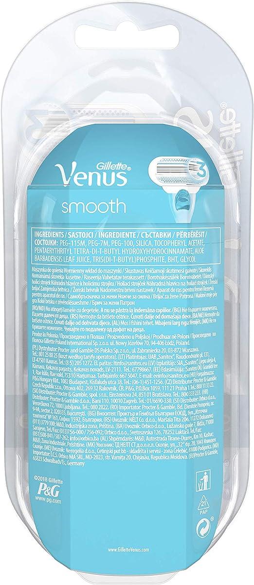 Venus Cuchillas De Afeitar Clásicas Para Mujeres 60 gr: Amazon.es ...