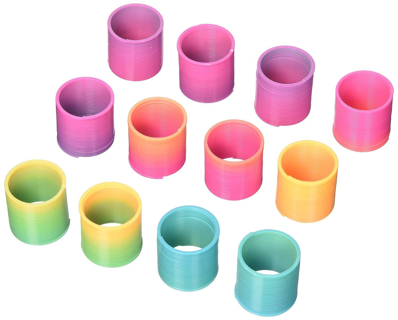 Rainbow Toy Spring Party Favors, 12ct Unique 86952
