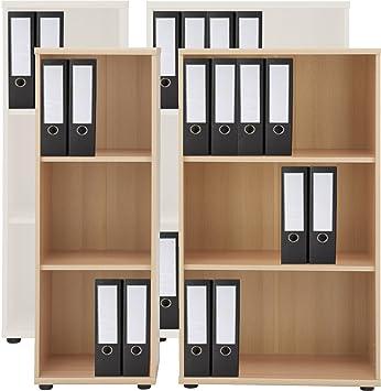 VCM Regal Büroregal Bücherregal Aktenregal Ordnerregal Schrank ...
