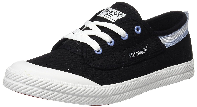 D. Franklin Unisex Erwachsene Hvk18901 Sneakers  Schwarz Black  43 EU