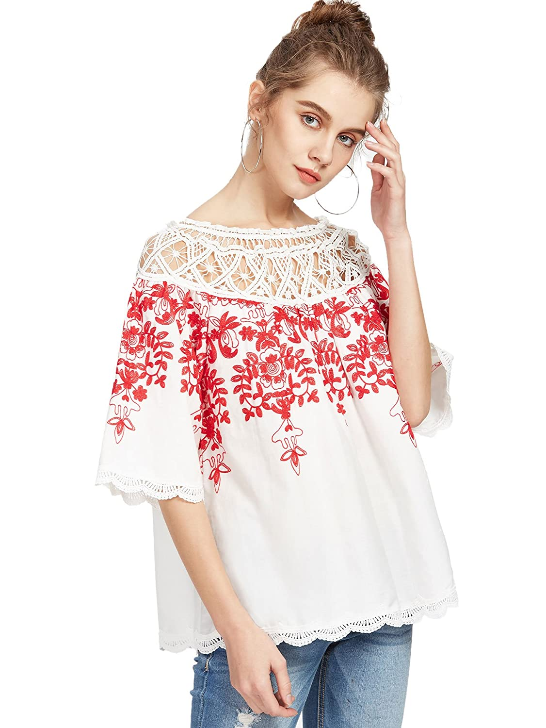 273f59eb76a Lace blouses are the best staple to go with. It is best paired with skinny  trousers teamed up with eye-catching fashion accessories.