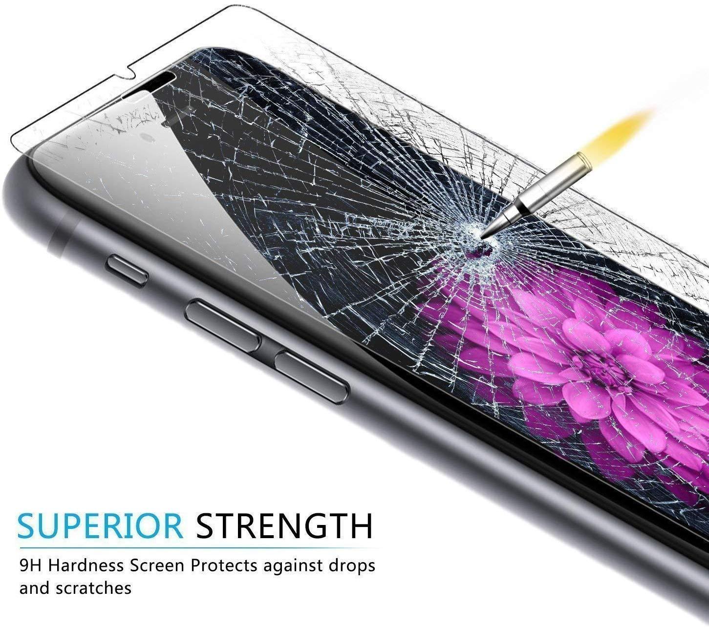 2 Pezzi Nessuna Bolla Pellicola Protettiva in Vetro Temperato per Huawei P Smart 2019 Ramcox Huawei P Smart 2019 Vetro Temperato Anti Impronte Anti Graffio